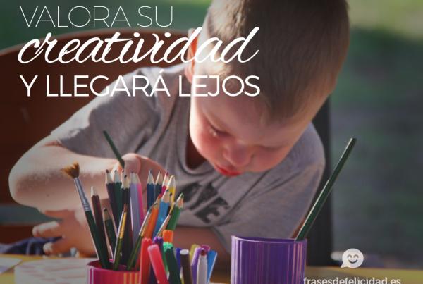 valora su creatividad